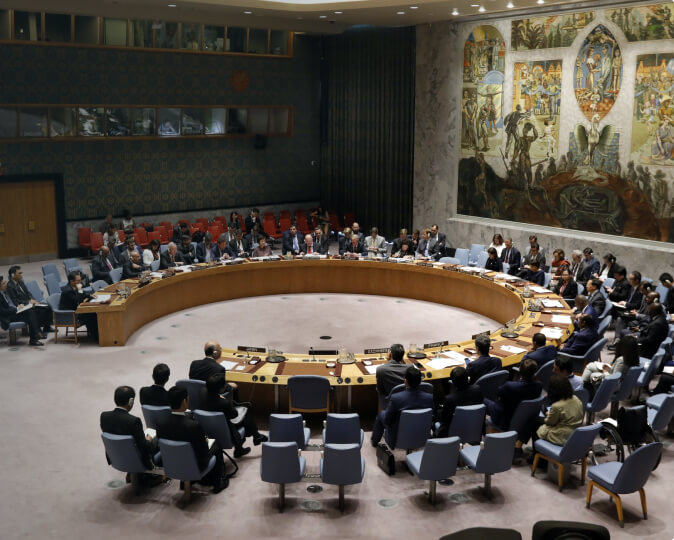 <span>Ireland's Voice in the United</span><span> Nations Security Council</span>